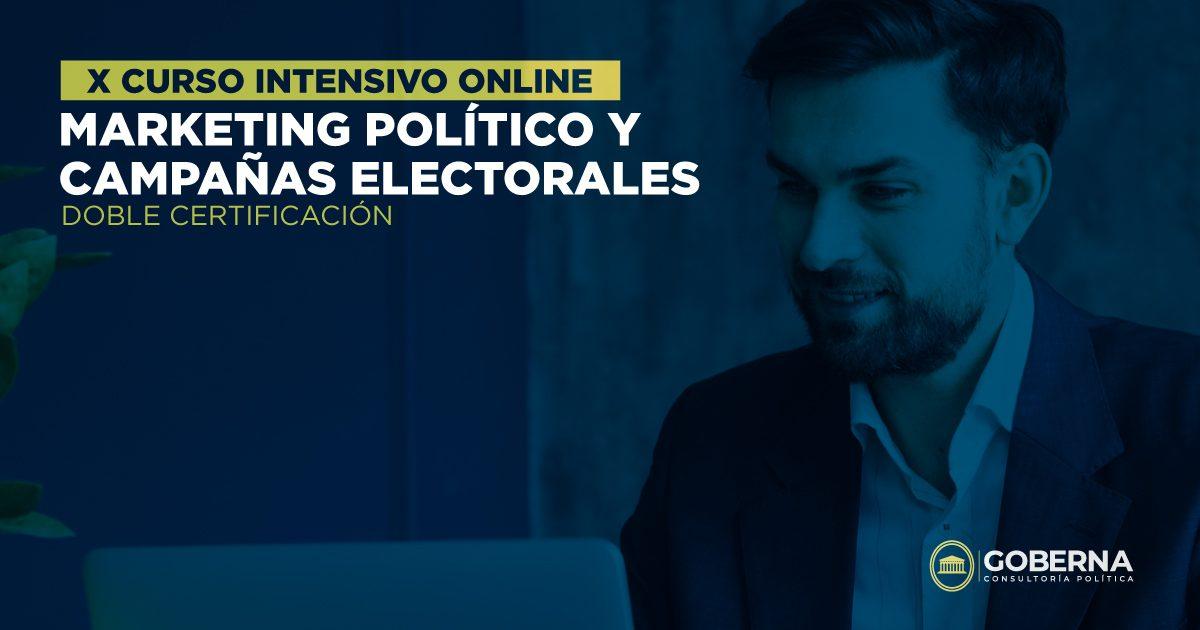 Décimo curso de Marketing Político y Campañas Electorales