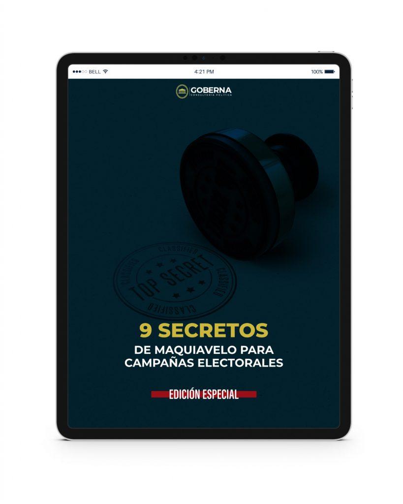 9 secretos de Maquiavelo para campañas electorales