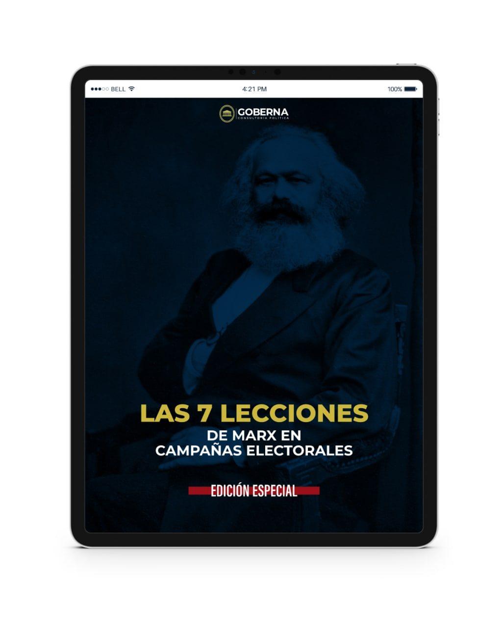 Las 7 Lecciones de Marx en Campaña Electorales